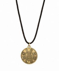 Small brass pendant